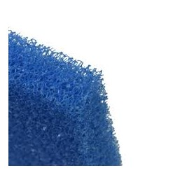 Filter foam PPI 10 sponge blue mat