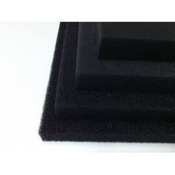 Filter foam PPI 20 sponge mat black