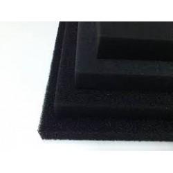 Pianka filtracyjna PPI 20 gąbka mata czarna - WYBIERZ WYMIAR