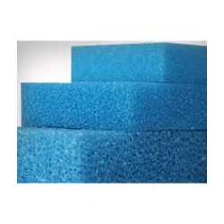 Filter foam PPI 30 sponge blue mat