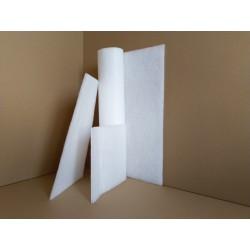 Formatka z włókniny filtrującej syntetycznej poliestrowej